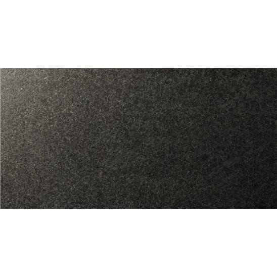 Doma 61 x 30.5 x 1 Black Flamed Granite