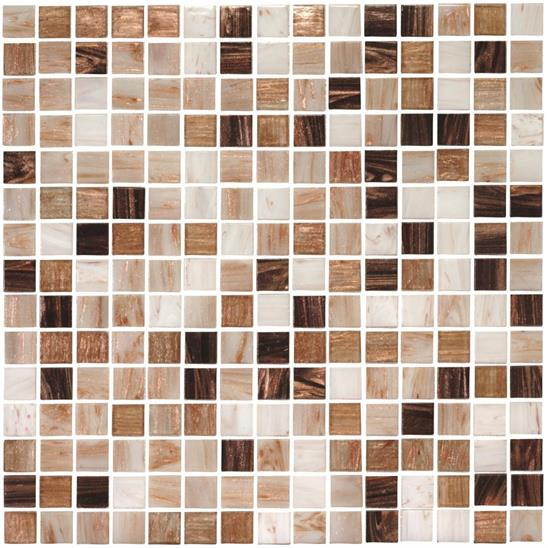 Elgon Mixed Blends Glass Mosaic 20mm 13/16""