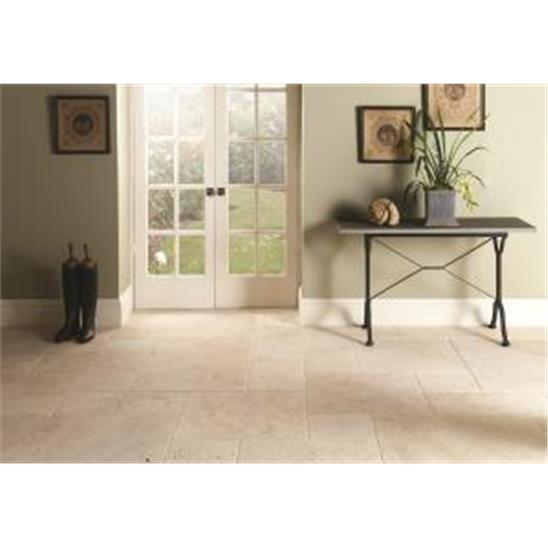 Levantine Ivory Manor Set Unfilled & Tumbled Travertine