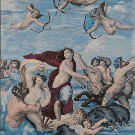 Raphael: Galatea Masterpiece Tile
