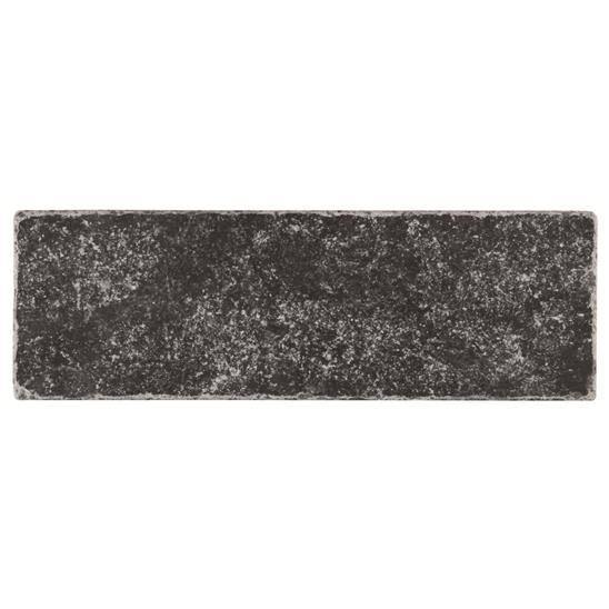 Negra Black Tumbled Marble
