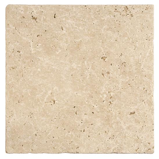 Levantine Ivory Unfilled & Tumbled Travertine