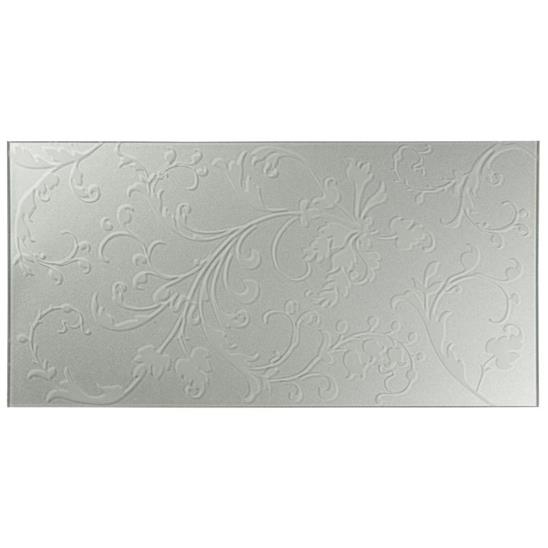 Beauville Silver Decorative Glass