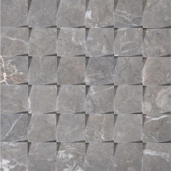 Origin Brown Honed Marble Mosaic
